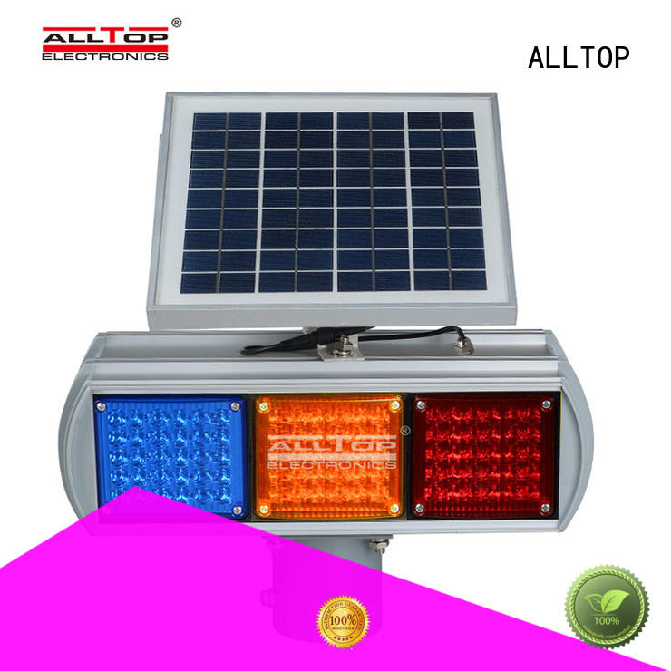 power traffic solar powered traffic lights quality ALLTOP company