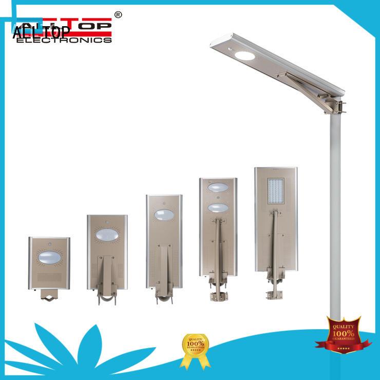 ALLTOP waterproof solar lamp factory price for garden