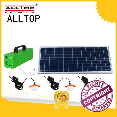 backup solar potable led lighting systems for home ALLTOP Brand