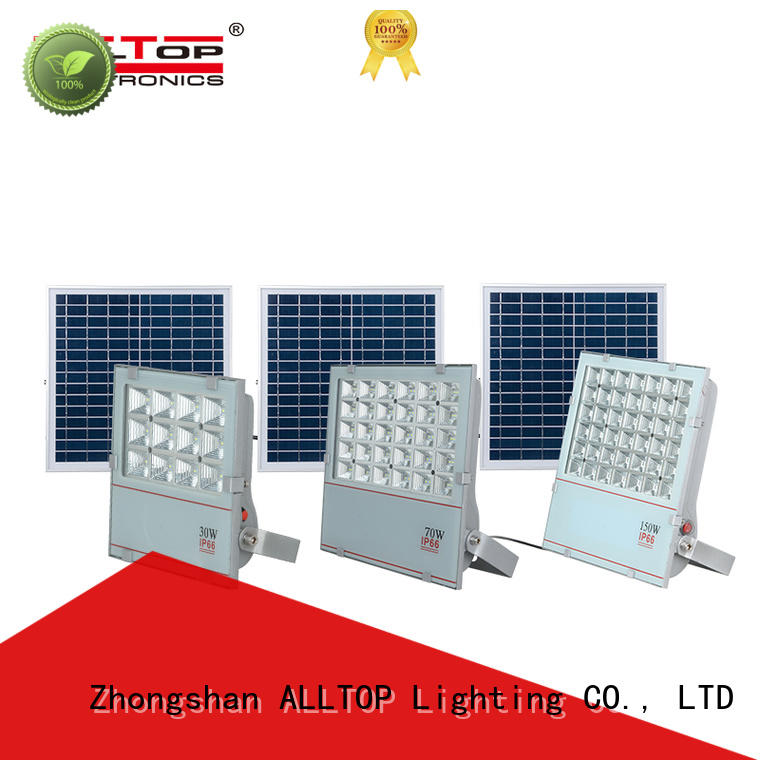 ALLTOP solar led flood lights ODM for spotlight