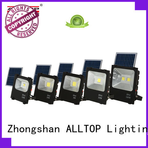 outdoor brightness solar flood lamp custom for stadium
