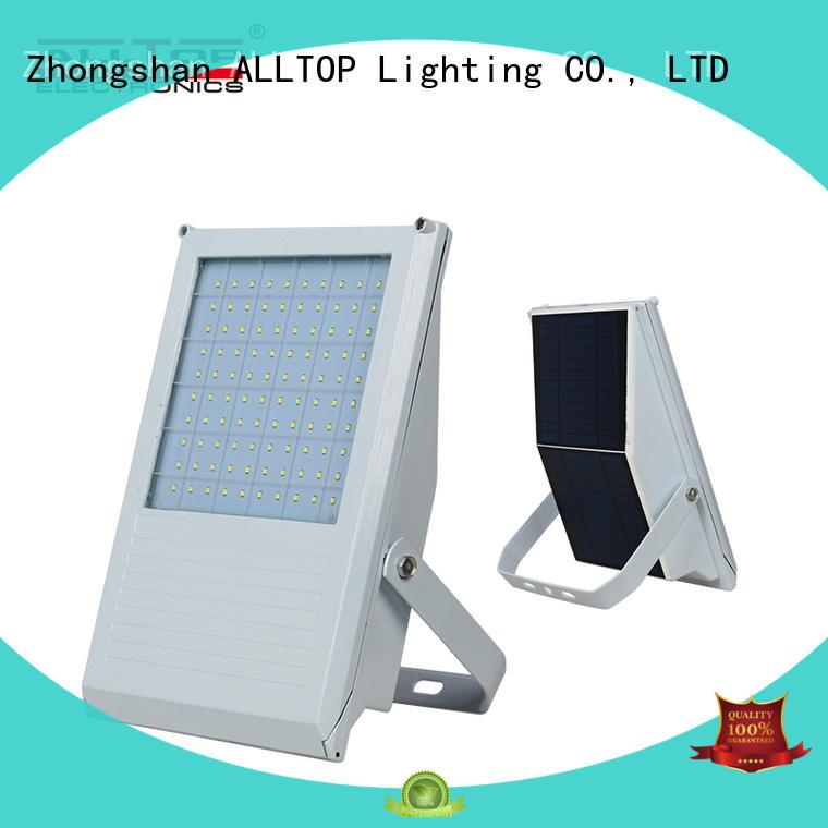 7w High lumen portable outdoor IP65 solar powered led flood light