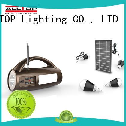 ALLTOP solar lighting system wholesale for battery backup