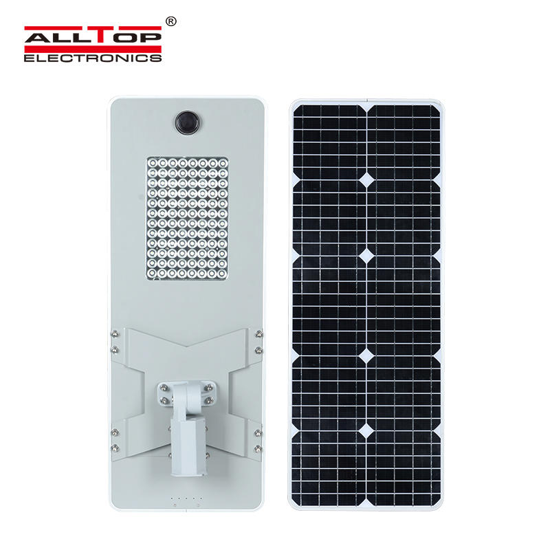 ALLTOP 50W 100W 150W 200W IP65 outdoor integrated motion sensor all in one solar led street light-3