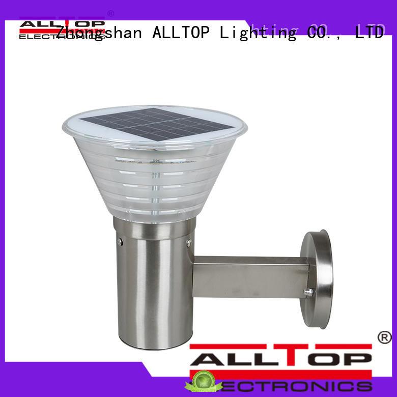 ALLTOP waterproof solar wall lantern washer for street lighting