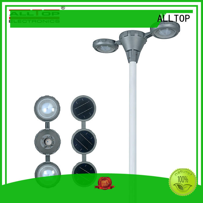 ALLTOP solar pillar lights bulk production for landscape
