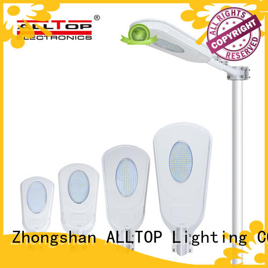 all in one solar street courtyard light sensor for highway ALLTOP
