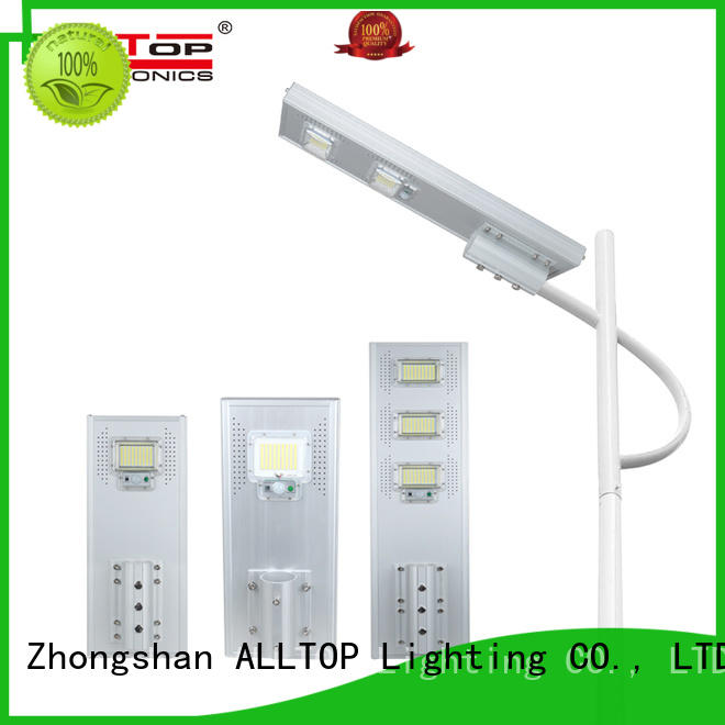 motion solar street light flood for garden ALLTOP