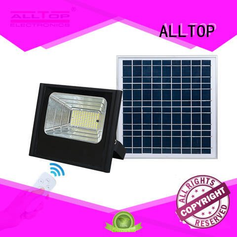 ALLTOP powered solar flood lamp popular for stadium