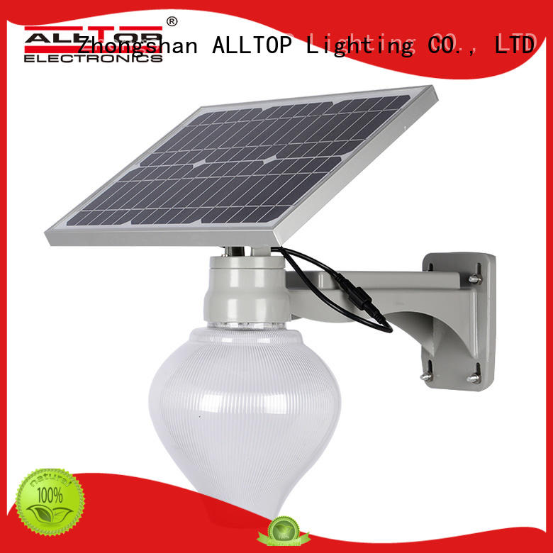 ALLTOP 12w solar street light popular for outdoor yard