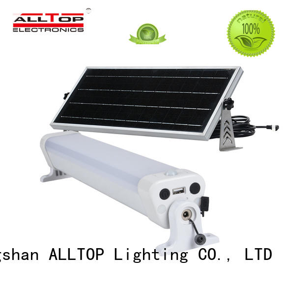 ALLTOP waterproof solar street light manufacturer for playground