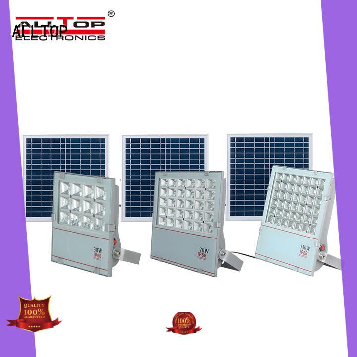folding solar powered motion flood lights OEM for spotlight ALLTOP