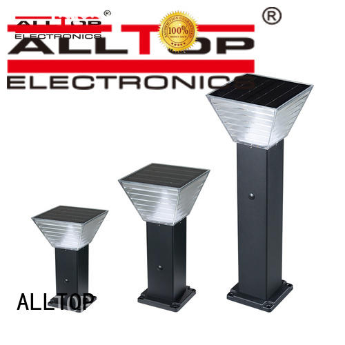classical solar garden lamp post manufacturer for decoration ALLTOP