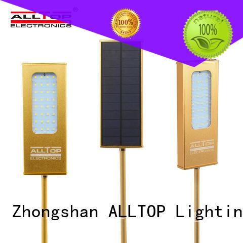 solar wall lamp aluminum for camping ALLTOP