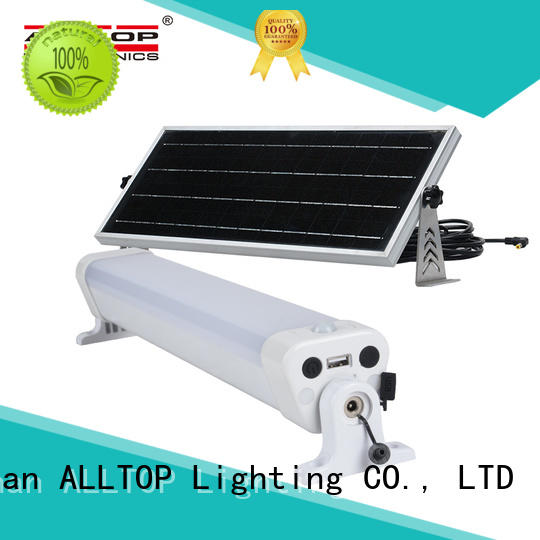 ALLTOP solar wall lantern housing for camping