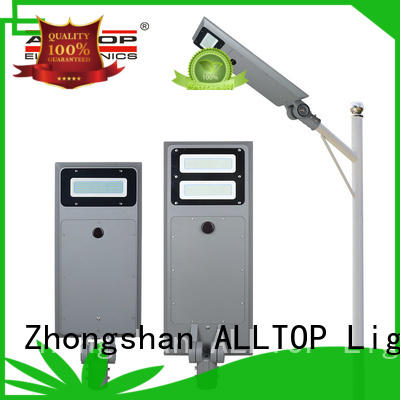 adjustable angle solar pole lights supplier for garden