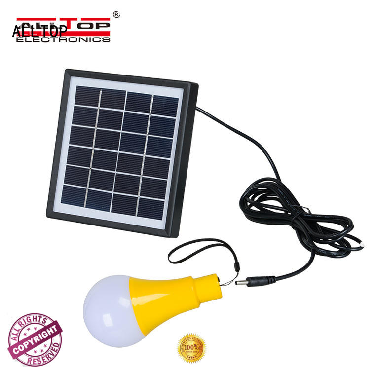 ALLTOP aluminum solar wall sconce certification for street lighting