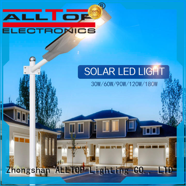 ALLTOP adjustable solar powered lights factory price for garden