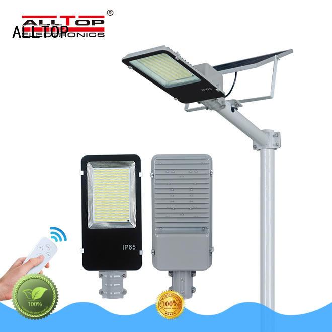 ALLTOP 20w solar street light directly sale for garden