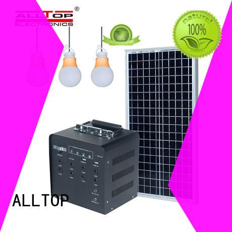 ALLTOP multi-functional 12v solar lighting system wholesale indoor lighting