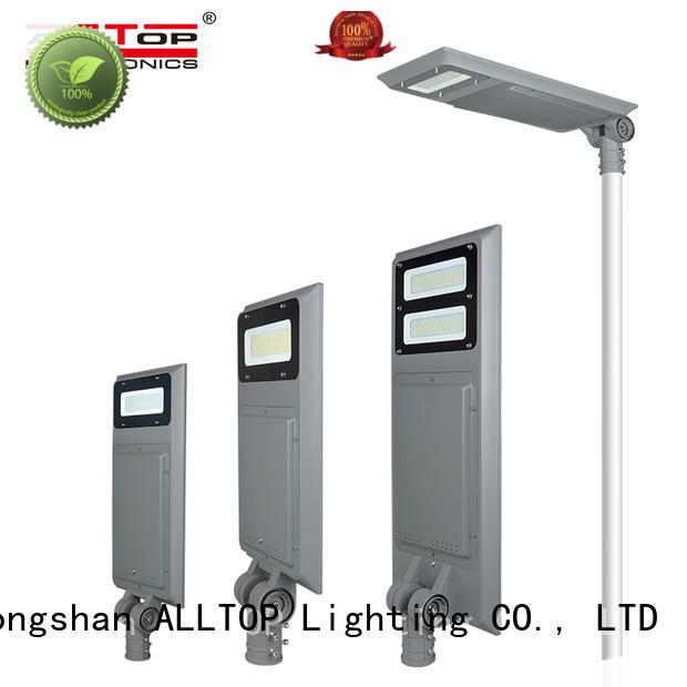 ALLTOP waterproof solar led lights free sample for road