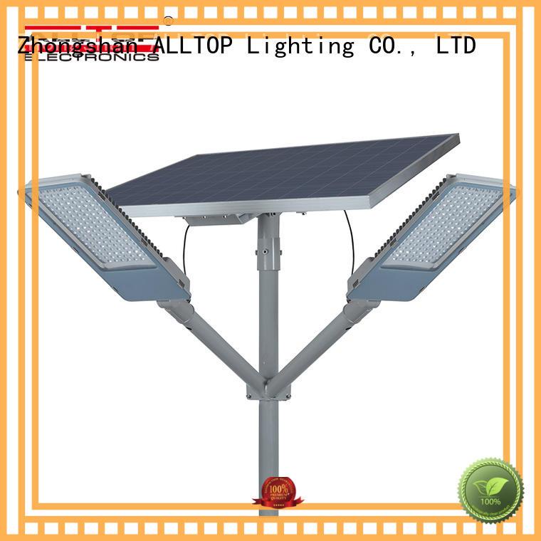 ALLTOP power 12w solar street light popular for outdoor yard