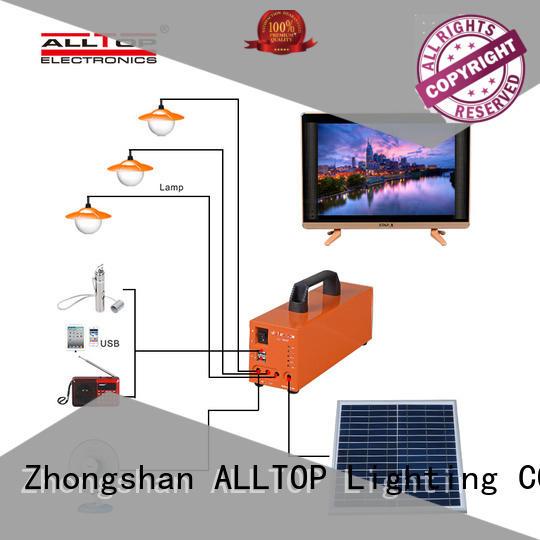 ALLTOP 12v solar lighting system supplier indoor lighting
