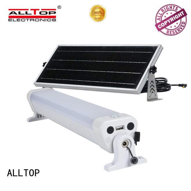 ALLTOP solar wall lights housing for garden