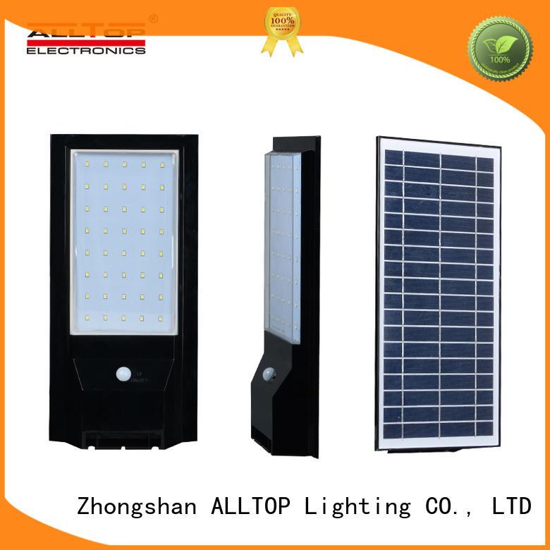 modern solar motion wall light portable highway lighting ALLTOP