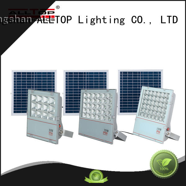 ALLTOP powered best solar flood lights aluminum alloy for spotlight