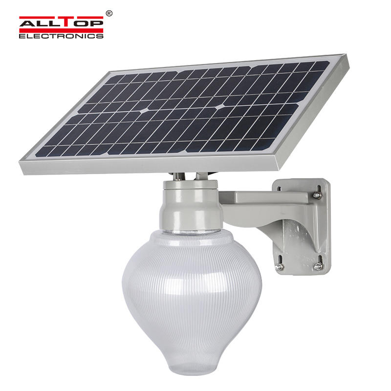 ALLTOP 12w solar street light popular for outdoor yard-3