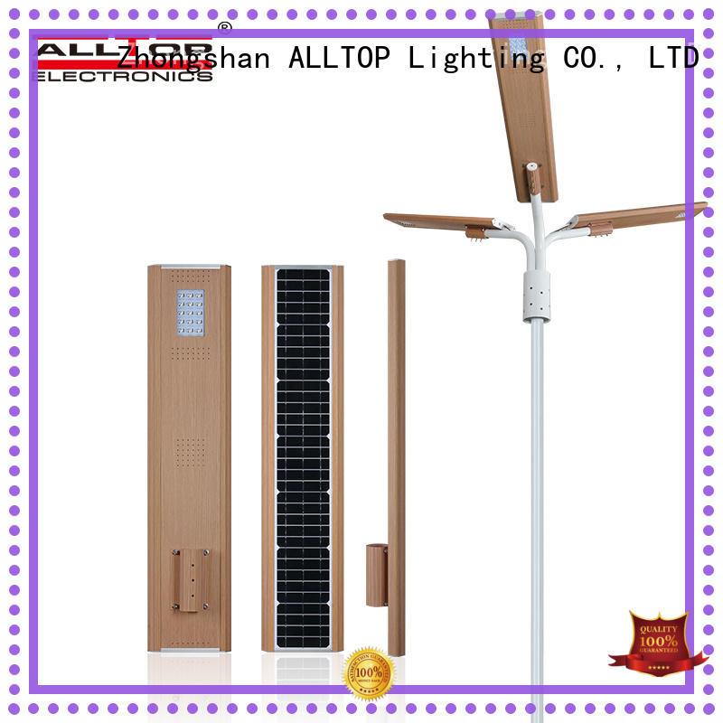 ALLTOP energy-saving all in one solar street light manufacturer for road