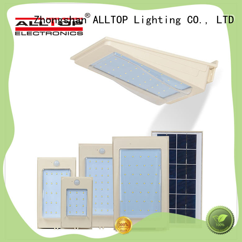 ALLTOP waterproof solar led wall lamp manufacturer for concert