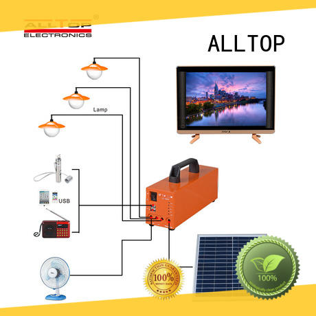 ALLTOP multi-functional solar powered stadium lights with good price for outdoor lighting