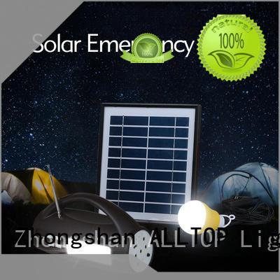 mini solar dc lighting system panel indoor lighting ALLTOP