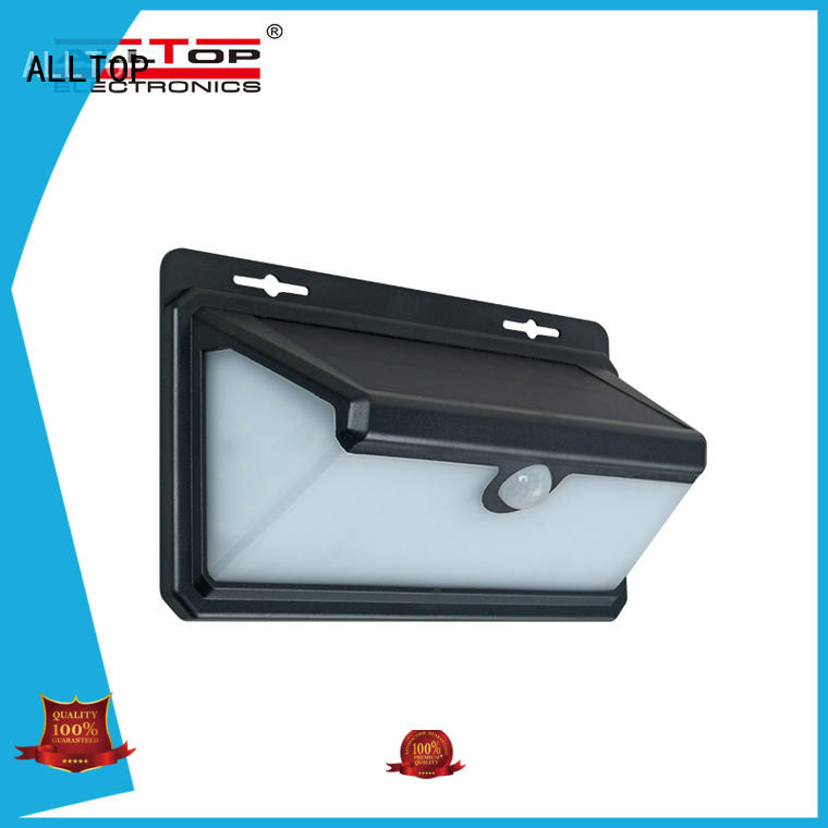 waterproof solar wall lights wide usage for garden
