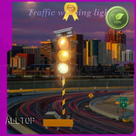 ALLTOP low price traffic light manufacturer mobile for safety warning