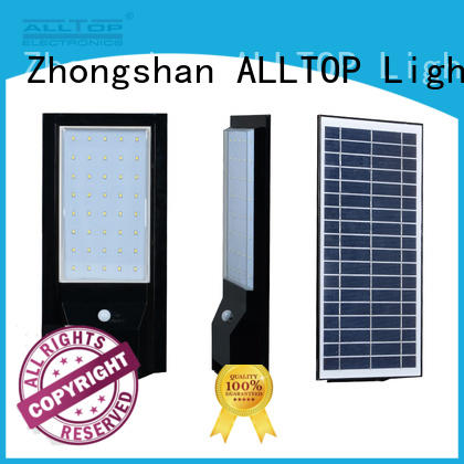 ALLTOP waterproof solar wall sconce directly sale highway lighting
