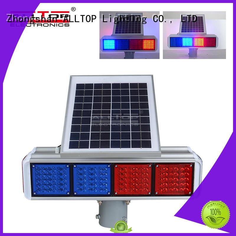 ALLTOP high quality solar traffic light intelligent for police