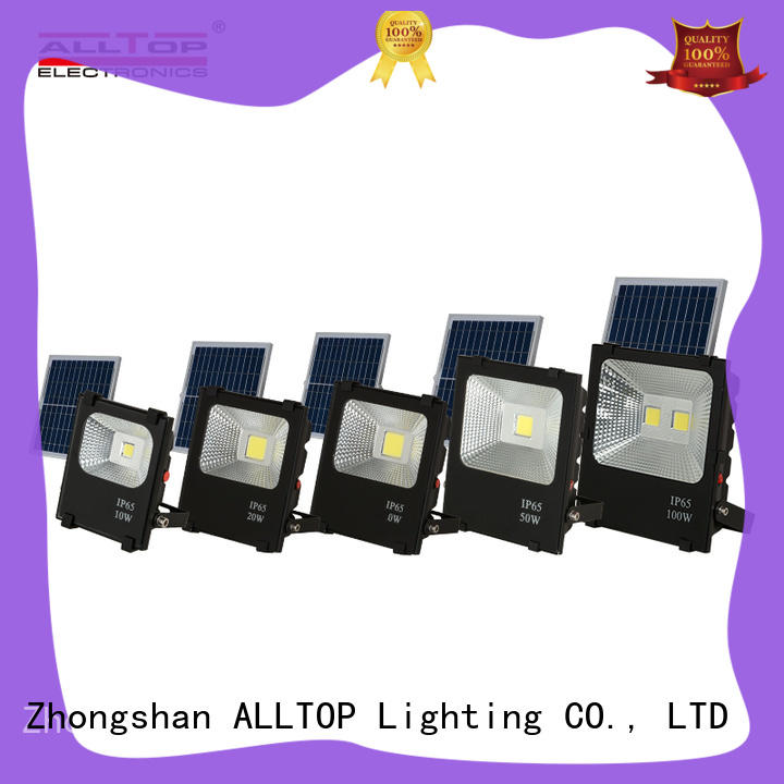 energy-saving solar flood light kit outdoor brightness for spotlight ALLTOP