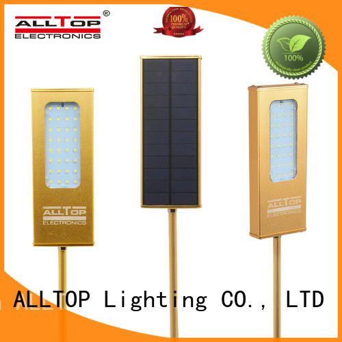ALLTOP solar wall lights certification for concert
