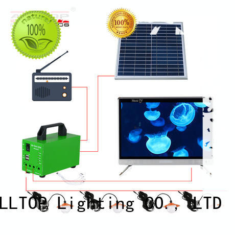system solar power generator system at discount for battery backup ALLTOP
