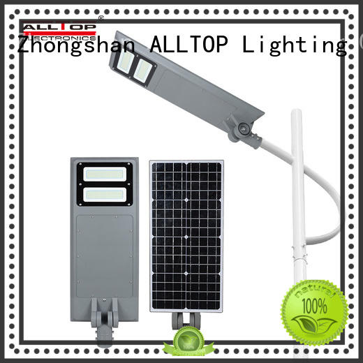ALLTOP flood integrated solar led street light free sample for highway