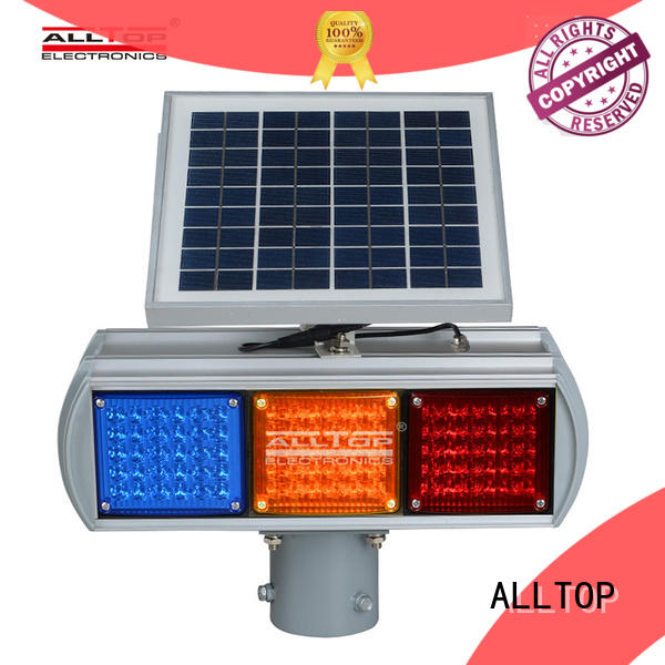 ALLTOP low price solar traffic light suppliers wholesale for factory