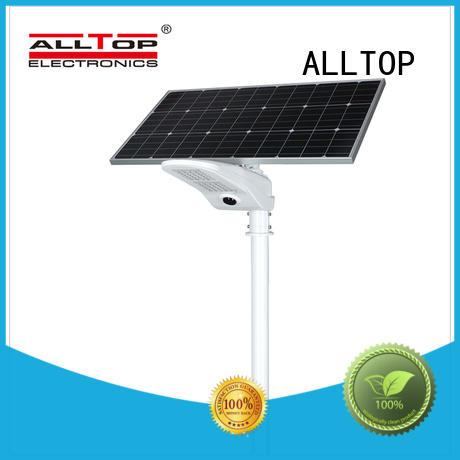 power solar led street lamp free sample for playground ALLTOP
