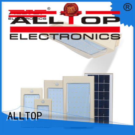 ALLTOP outdoor solar wall lights manufacturer for party