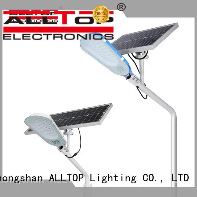 ALLTOP energy-saving solar street light kit shining rightness for lamp