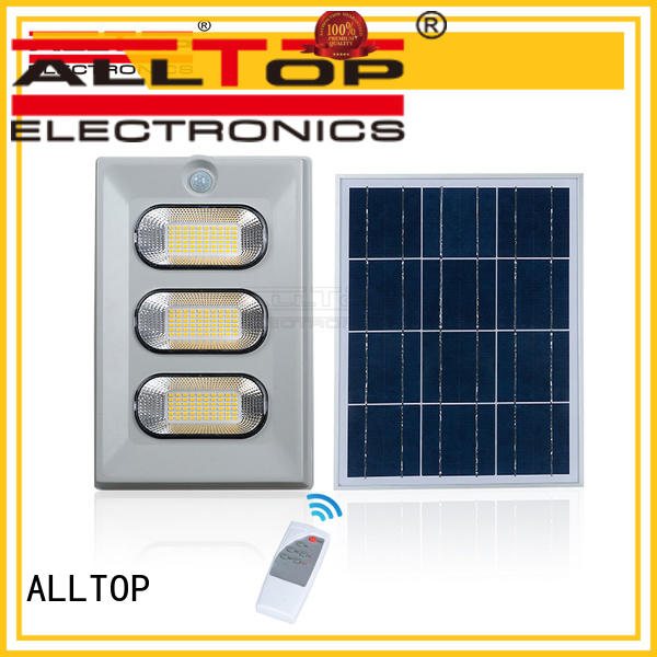 Wholesale lighting solar flood light kit ALLTOP Brand