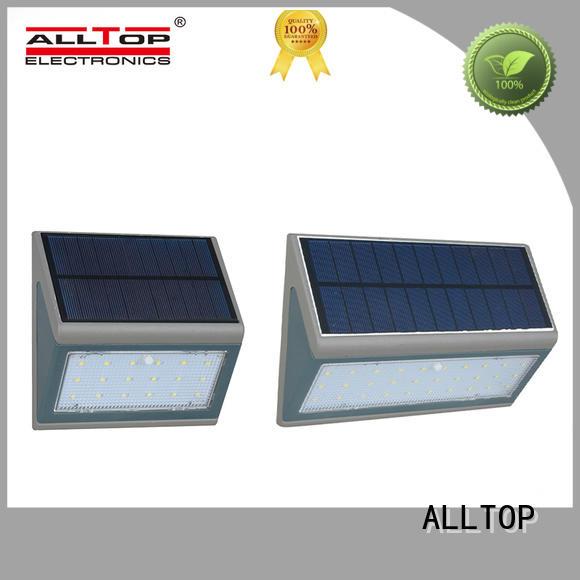 modern solar wall lantern housing for street lighting