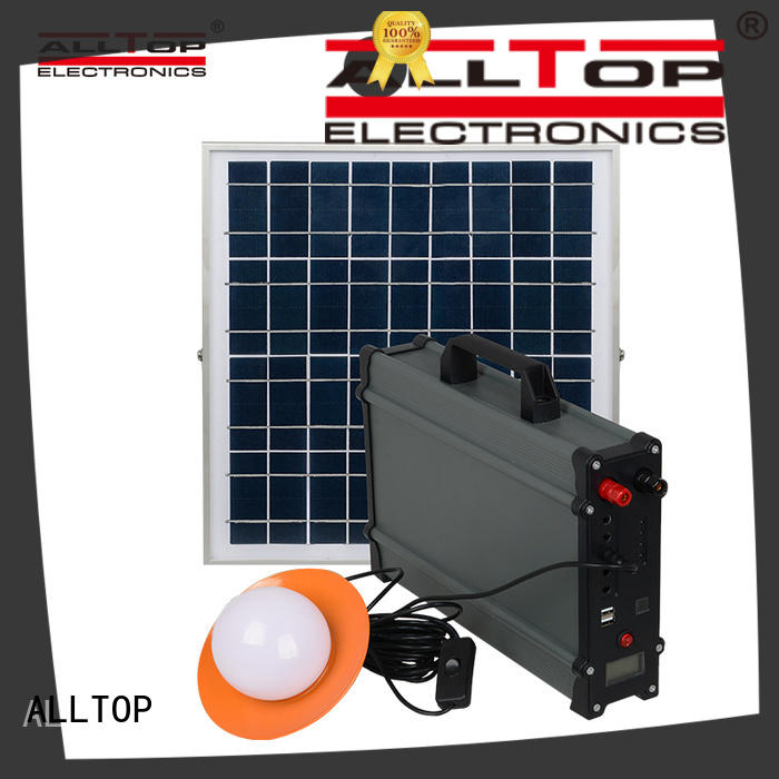 mini solar dc lighting system for wholesale for camping